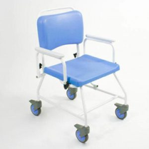 20 INCH Seat Width Bariatric Atlantic commode & shower chair