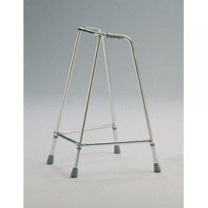 Large Shallow Depth Adjustable Height Walking Aid