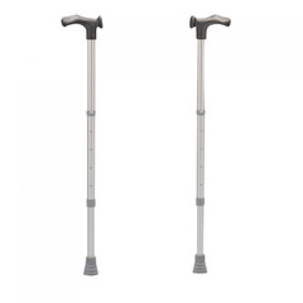 Left Handed Ergonomic Handle Height Adjustable Walking Stick