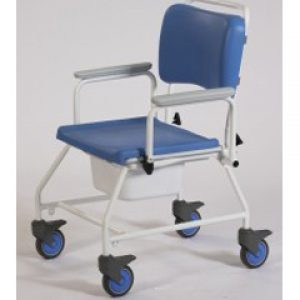 22 inch Seat Width Bariatric Atlantic commode & shower chair