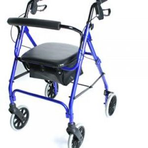 Lightweight Aluminium Safety Walker (Standard Blue)